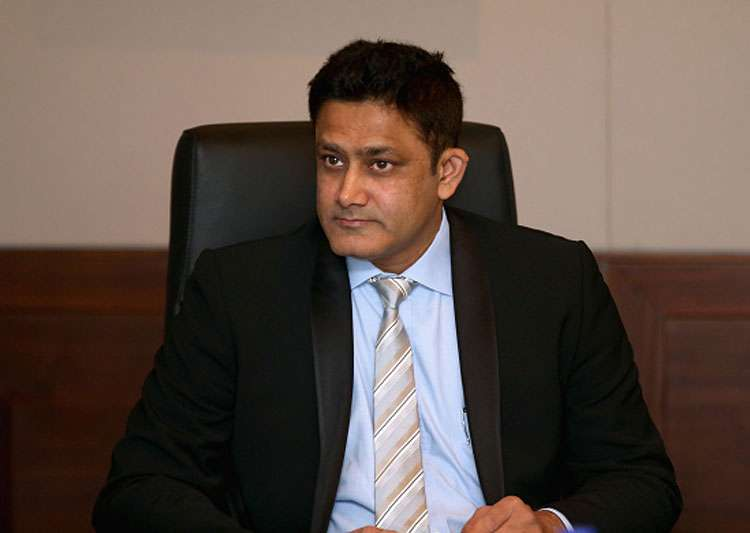 A file image of Anil Kumble.- India Tv