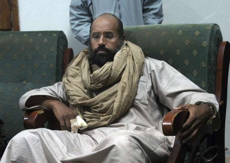 Seif al-Islam after his capture by revolutionary fighters- India Tv