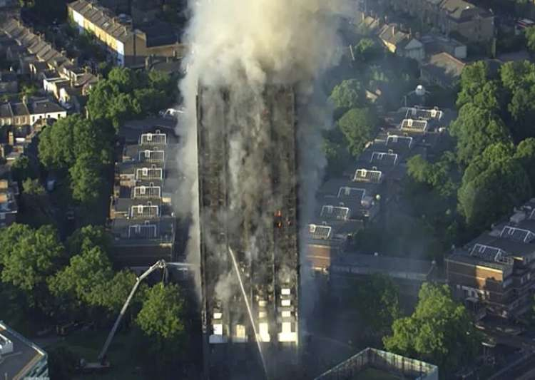 United Kingdom  minister vows London fire inquiry will leave 'no stone unturned'