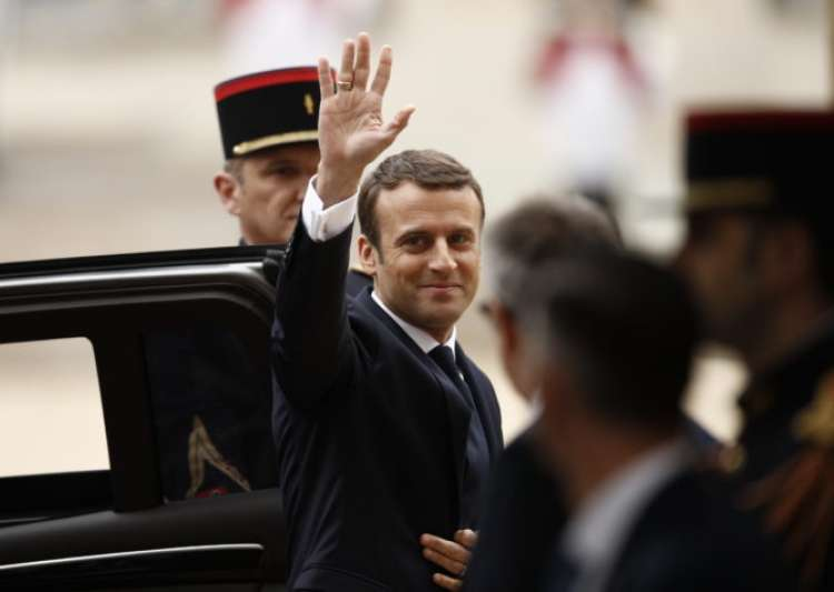 Emmanuel Macron's party on course for huge parliamentary- India Tv