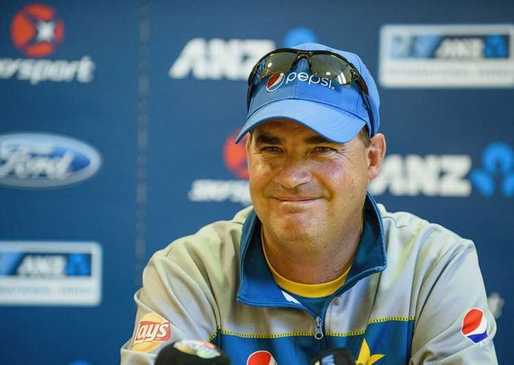 Mickey Arthur of Pakistan speaks to the media during a- India Tv