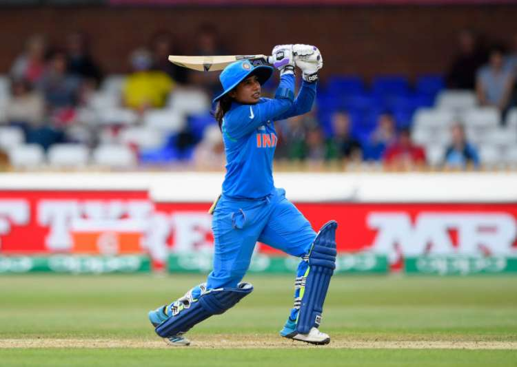Mithali Raj hits out during the ICC Women's World Cup 2017- India Tv