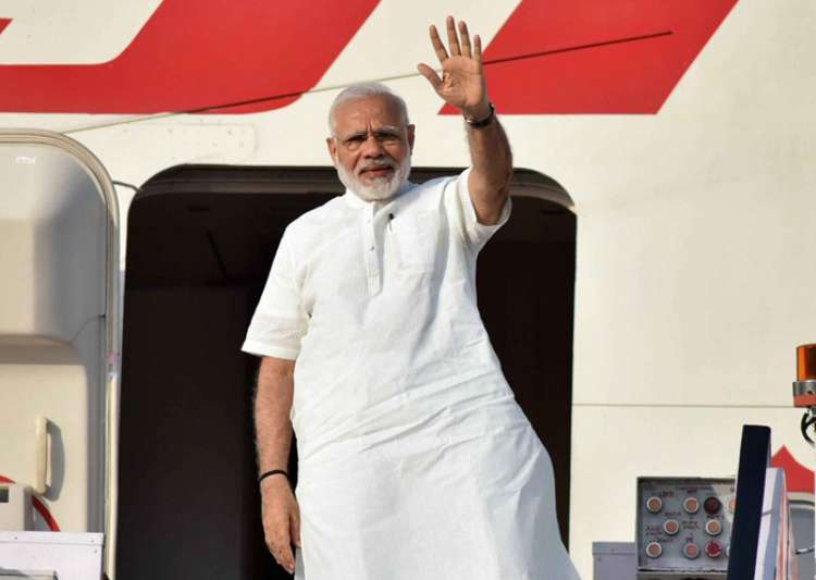 PM Narendra Modi leaves for Portugal on first leg of- India Tv