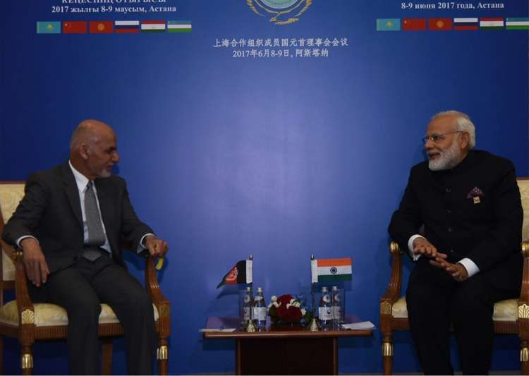 PM Modi conveys India's strong support to Afghan in