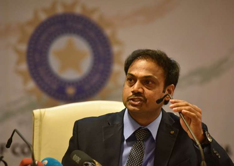 MSK Prasad - Indian team selection committee Chairman- India Tv