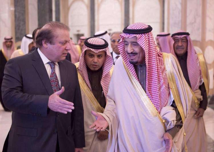 Nawaz Sharif met Saudi Arabia King Salman on Monday- India Tv