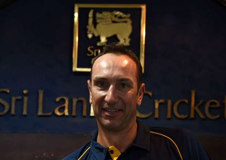 Former South African cricketer Nic Pothas looks on during a- India Tv