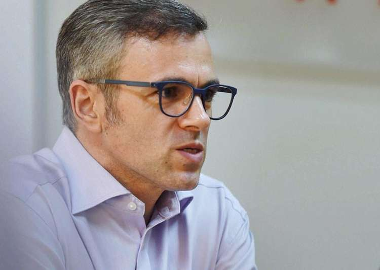 File pic of Omar Abdullah- India Tv