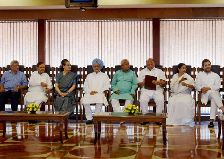 Non-NDA leaders at a luncheon hosted by Sonia Gandhi last- India Tv