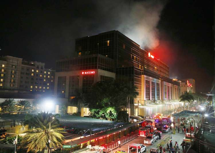 At least 36 killed after gunman sets fire to Philippine- India Tv