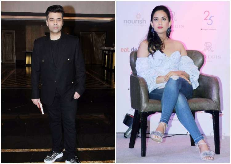 Karan Johar and Mira Rajput