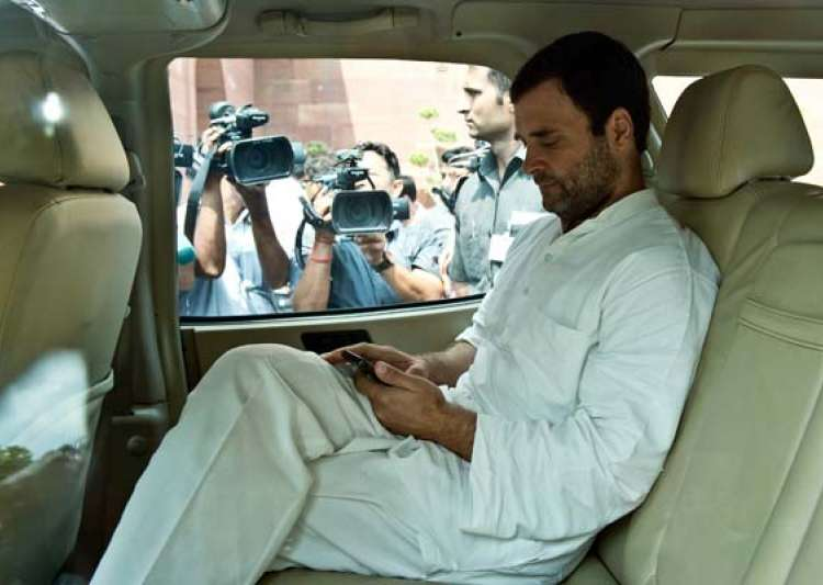 Rahul Gandhi to travel abroad to spend time with grandmother