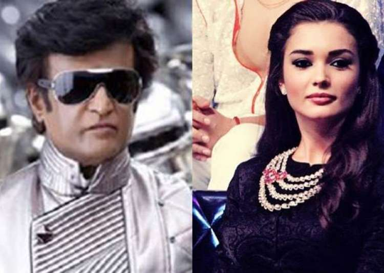 Rajikanth and Amy Jackson to star in 2.0- India Tv