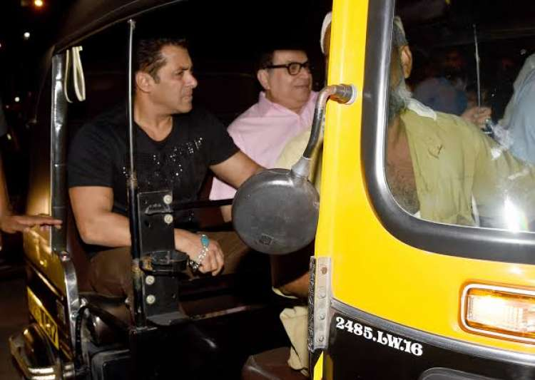 Salman Khan auto ride Tubelight- India Tv