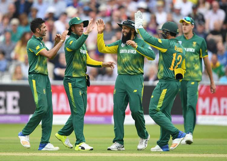 A file image of South Africa team.- India Tv