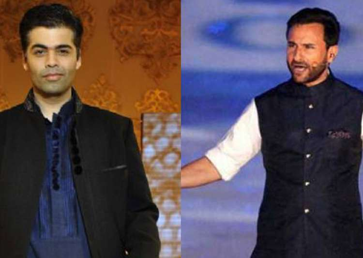 saif ali khan, karan johar- India Tv