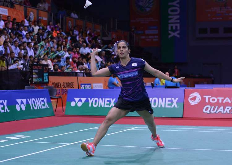 Shuttlers Saina Nehwal, Sai Praneeth reach Thailand Open- India Tv