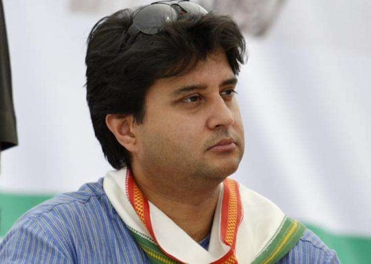 Jyotiraditya Scindia arrested on his way to violence-hit- India Tv