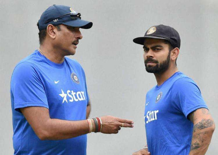 Kohli backed Ravi Shastri's name for coach job before- India Tv