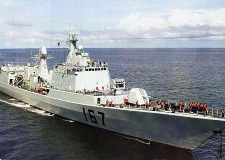 Chinese navy launches new indigenous destroyer