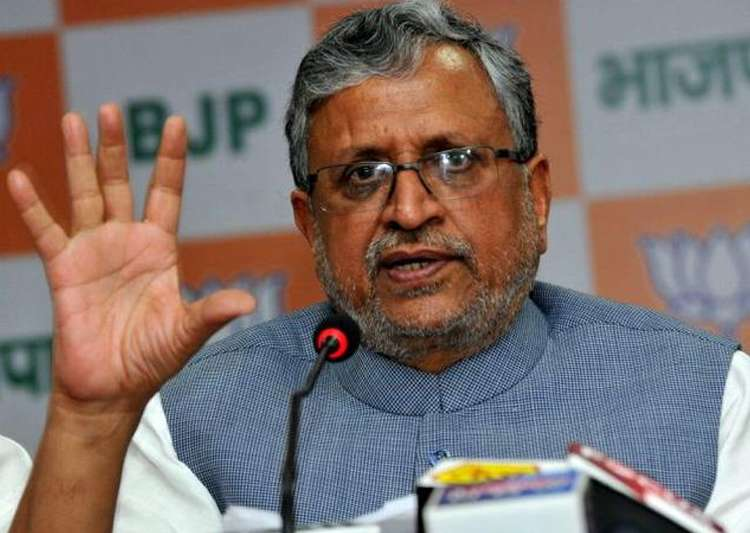 File pic of BJP leader Sushil Kumar Modi- India Tv
