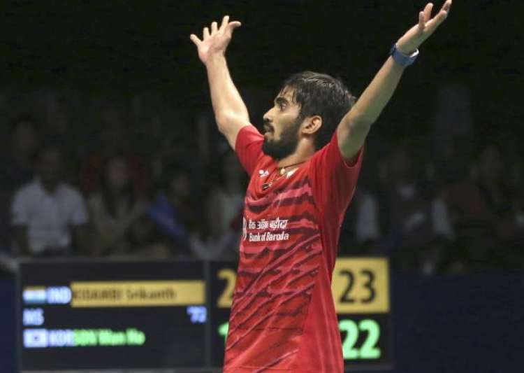 Shuttler Kidambi Srikanth clinches Indonesia Open title - India Tv