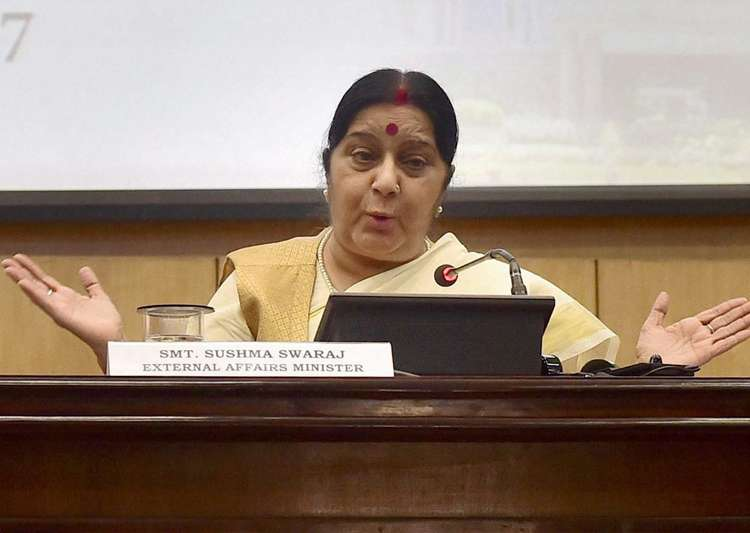 India to raise airspace violation with China: Swaraj