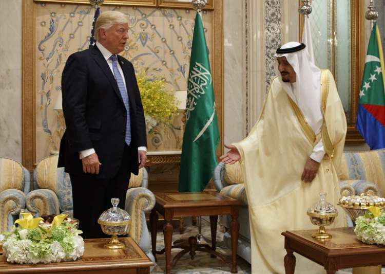 Trump pushes Gulf unity in call with Saudi king- India Tv