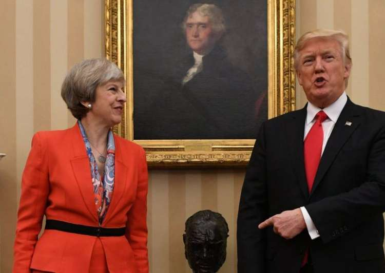 Trump offers 'warm support' to Theresa May after poll- India Tv