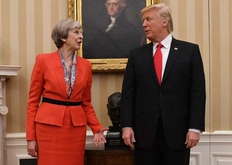 Trump speaks with Theresa May after London terror attacks- India Tv