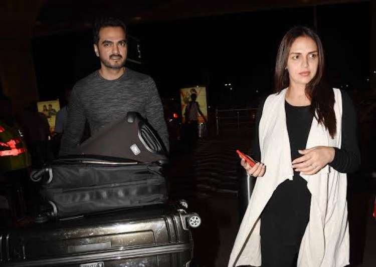 Esha Deol with husband Bharat Takhtani- India Tv