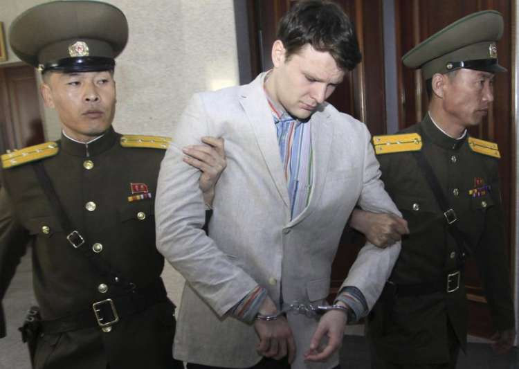 US student freed by North Korea in a coma dies - India Tv