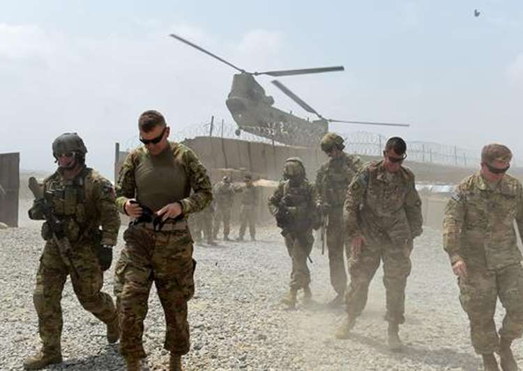 File pic - Afghan soldier kills two US soldiers: Official- India Tv