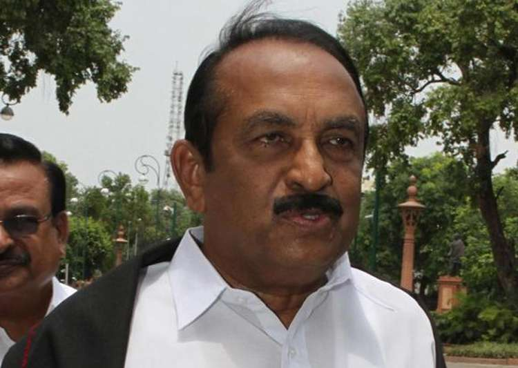 File pic - MDMK Vaiko detained in Kuala Lumpur airport, to- India Tv
