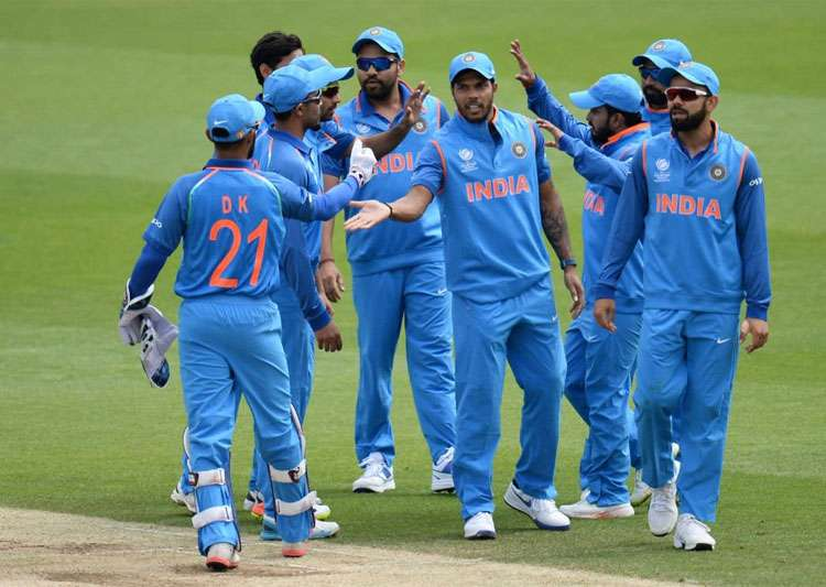 A file image of the Indian team.- India Tv