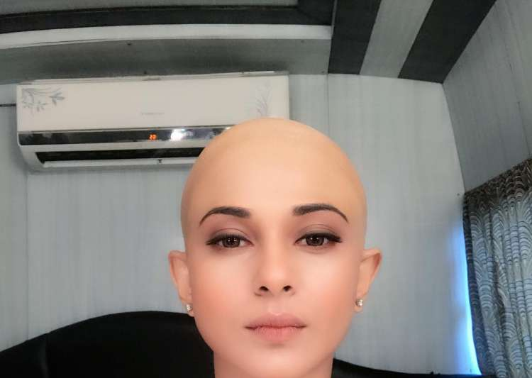 Jennifer Winget bald look Beyhadh- India Tv