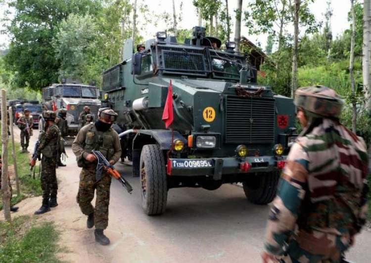 Three militants killed in gunbattle with security forces in J&K