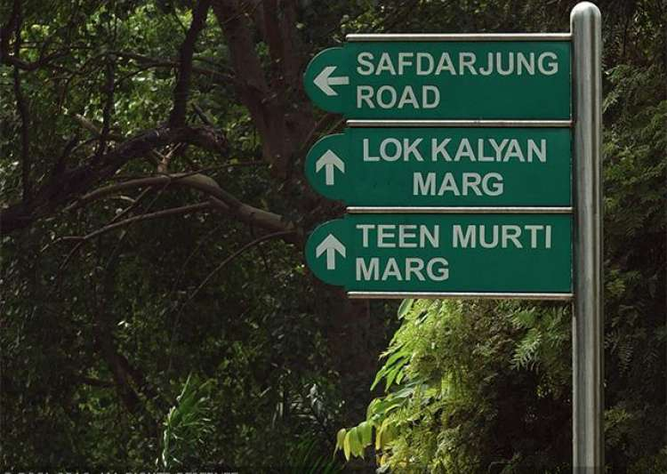 Plan to rename Teen Murti Marg after Israeli city in limbo- India Tv