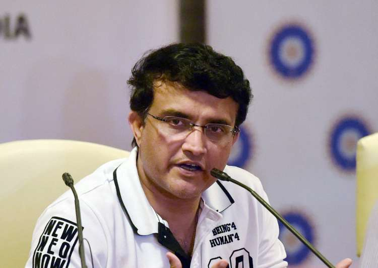 A file image of Sourav Ganguly.- India Tv