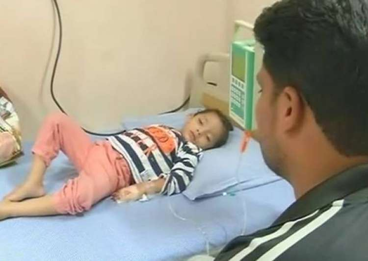 3 year old hyderabad girl cries blood- India Tv