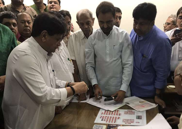 In a first, NOTA to be available for Gujarat Rajya Sabha elections