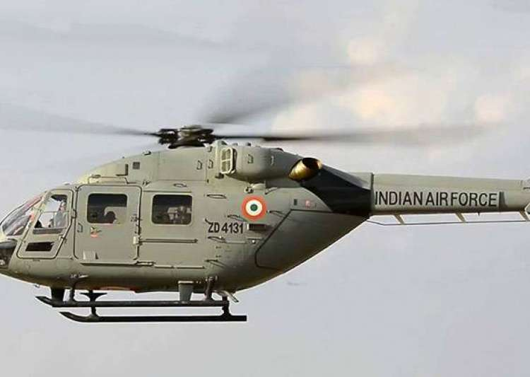 Missing IAF helicopter: Possible debris spotted, crew's fate unknown