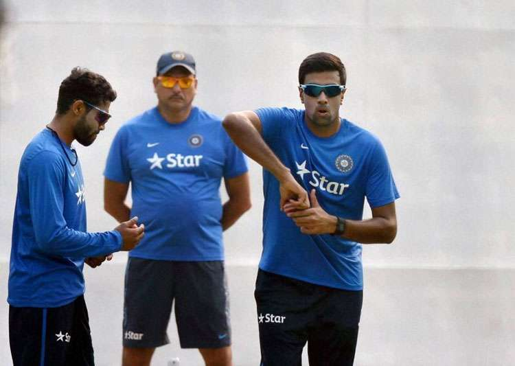 India off to steady start in first Test