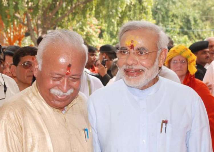 Bhagwat hails Modi's journey from CM to PM
