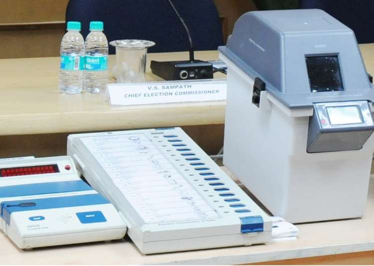 EVM with VVPAT- India Tv