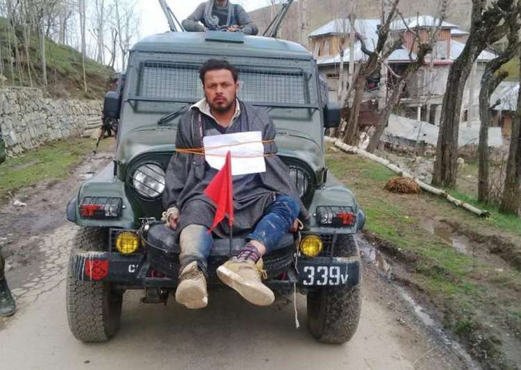India ordered to pay Rs1m compensation to 'human shield' victim in Kashmir
