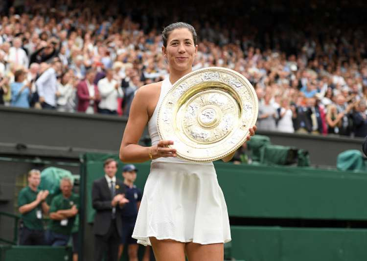 Muguruza Stops Venus to Win Women's Title