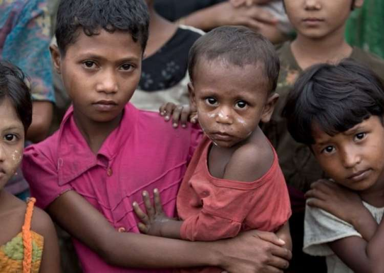 80,000 children 'wasting' from hunger in Myanmar: UN- India Tv