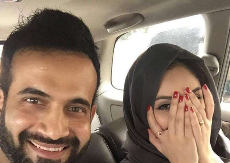Irfan Pathan's Selfie With Wife