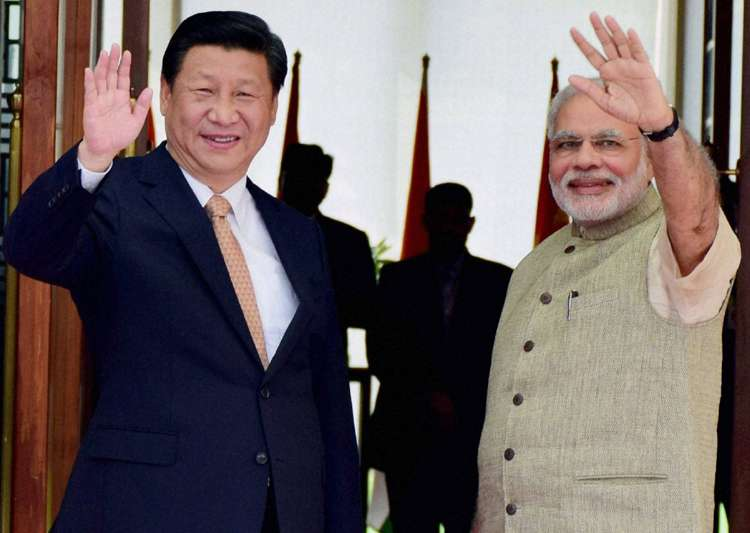 File pic - Xi Jinping and PM Narendra Modi - India Tv